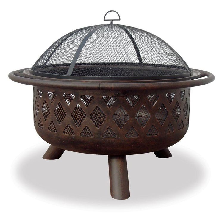 The deep bowl design accommodates a large fire, but the fire bowl is still portable for use in a variety of areas. The Home Depot's best selling fire pit.
