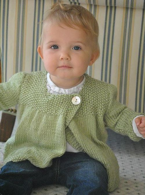 Baby Girl Knitted Sweater Pattern : 25+ best ideas about Baby Sweaters on Pinterest Knit baby sweaters, Knitted...
