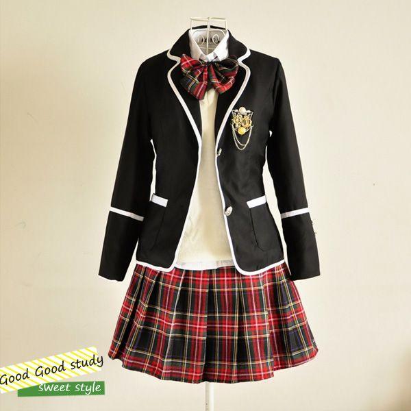 Sonbahar ve kış üniforma performans aşınma takım elbise, Kore japon öğrenciler…