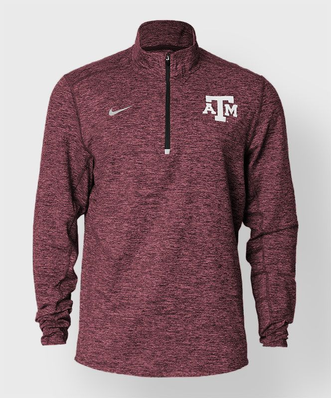 Texas A&M Nike Half Zip