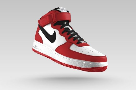Nike Air Force 1 Mid ID Designed by Ryanke Inspired by Nike Air ...