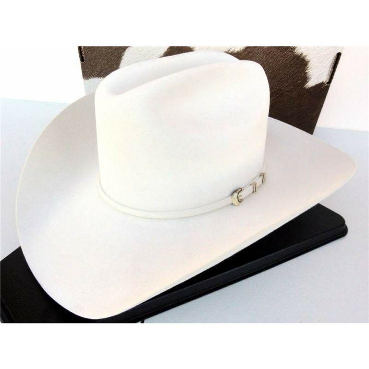 George Strait Resistol Hats   ... Resistol Cowboy Hat 6X Beaver Fur Felt White Black Hawk George Strait