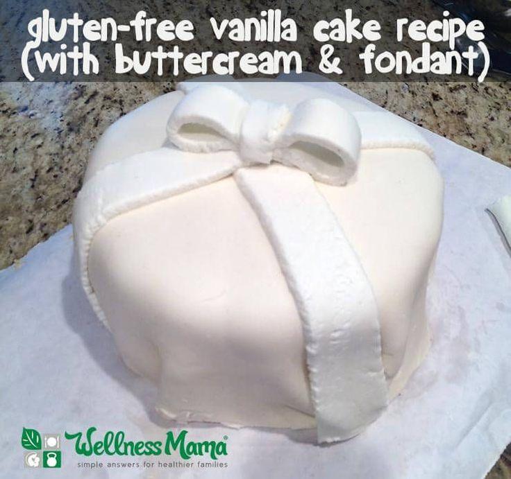 Vanilla Gluten Free Cake Recipe