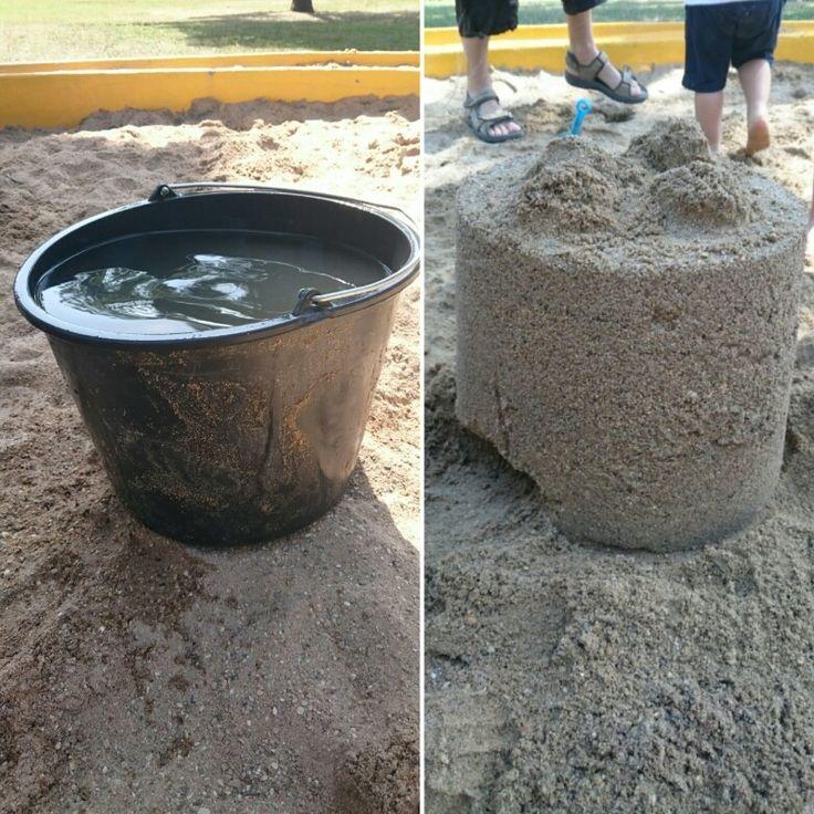 Hoe groot wordt jouw zandkasteel?