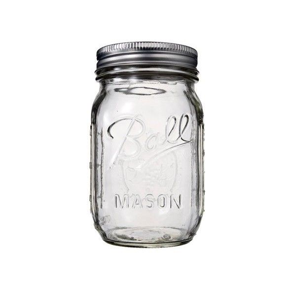 Transparent Mason Jar-OUT OF STOCK
