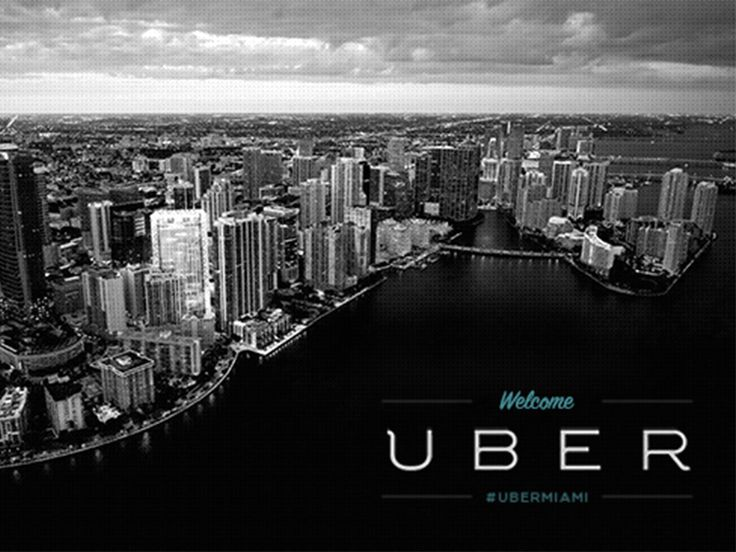 A Miami Uber driver takes exception to the company's rate cuts