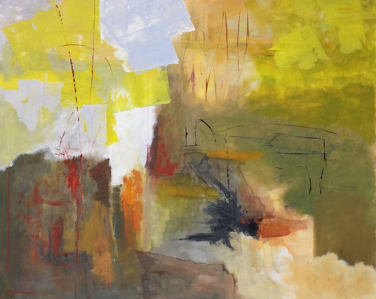 Passage,  Acryl  100x80 cm