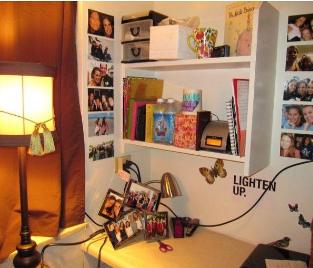 Decorating Ideas > UGA Dorm Room Desk Idea!  College Dorm Room Ideas  Pinterest ~ 162151_Dorm Room Business Ideas