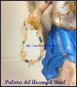 Citrine bracelet . Pulsera del Arcangel Uriel-amuleto del arcangel Uriel-Amuleto del angel-Arcangel Uriel-Angel Uriel-Arcangeles-Angeles-pulsera de los arcángeles. http://www.angelesmensajeros.com/pulseras-de-los-angeles/