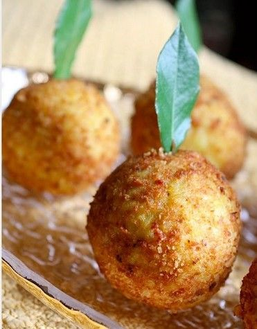 Homemade Arancini from #guidilenci