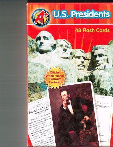 u  s  presidents flash cards