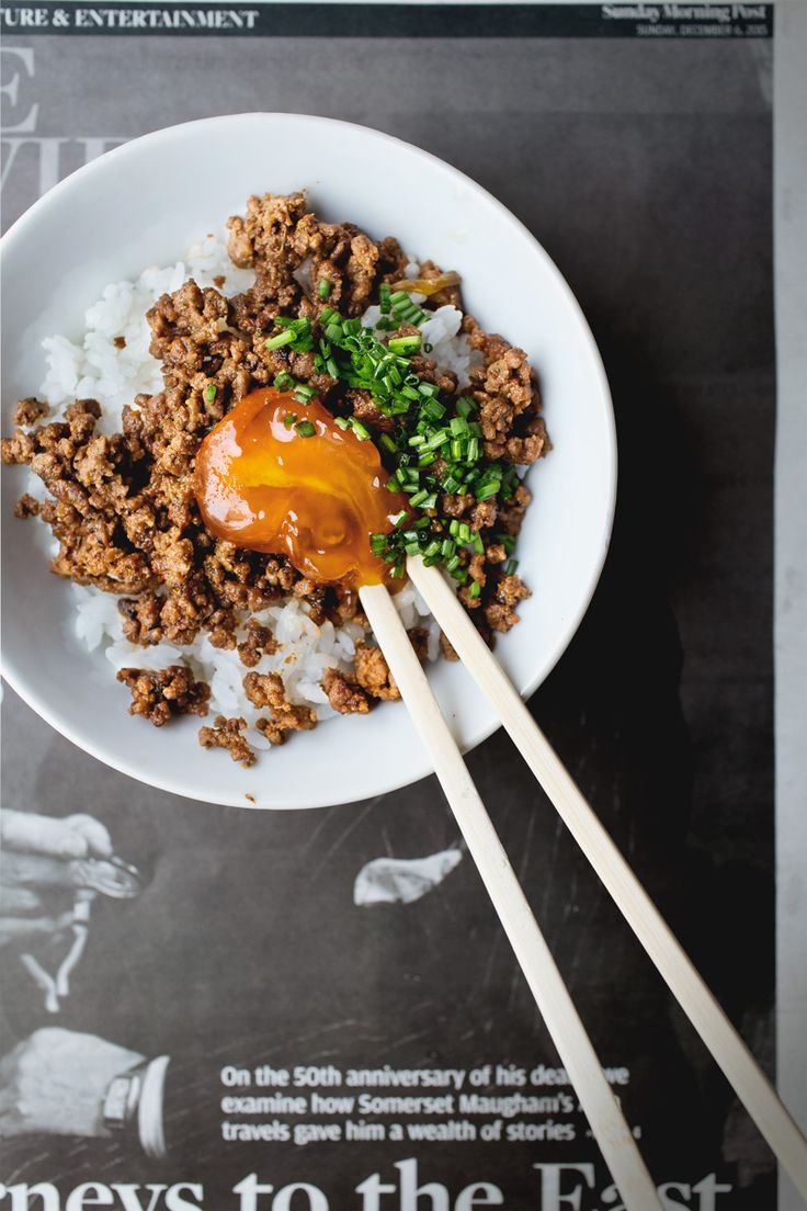 spicy cured yolk rice bowl | lady and pups #curedyolk #curingyolk #gochujang