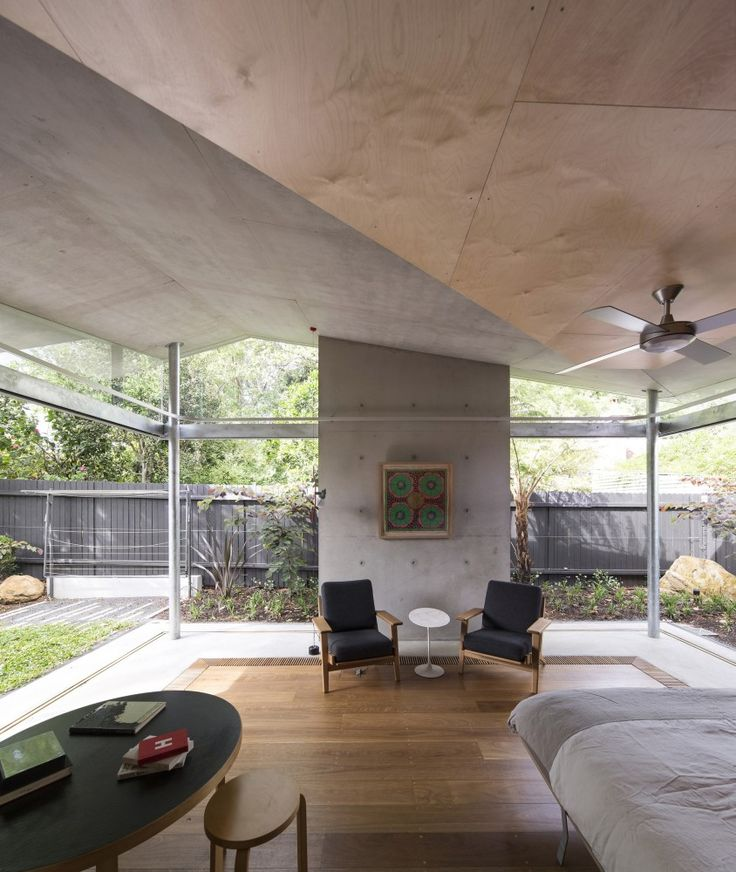 Plywood The Garden Room / Welsh+Major