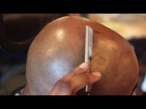 in this video learn how to shave your own head with straight edge razor , Bald Head Shave by @core83cutts follow him on IG, for more how to vids go to http:/...