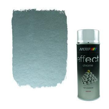 Motip spuitlak chroom zilver 400 ml | Lakverf voor binnen | Lakken | Verf | GAMMA