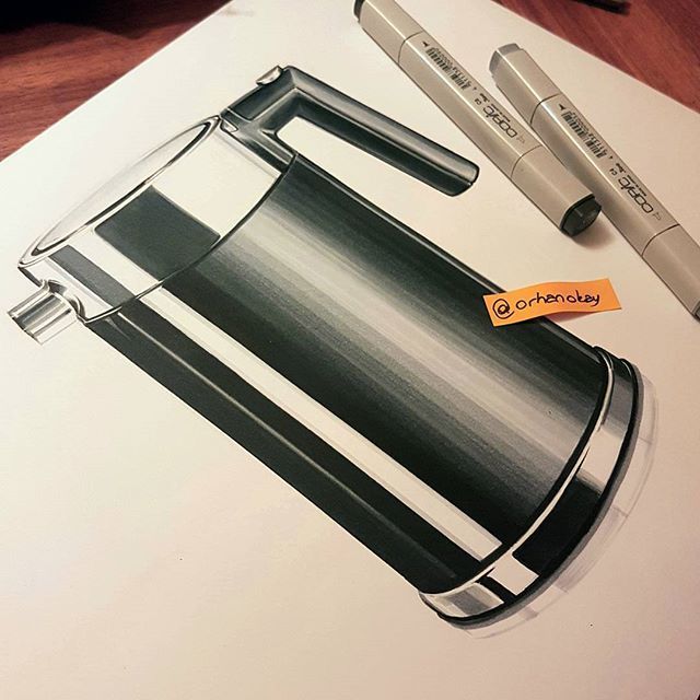 #marker#designsketch#copic#art#illustration #drawing#draw#picture#artist#sketch #kitchen #sketchbook#kettle#pen#artsy#instaart#beautiful#instagood#airbrush#cooking#creative#photooftheday#instaartist#graphic#graphics#red#idsketch #industrialdesign
