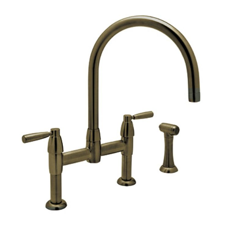 Perrin And Rowe Double Handle Kitchen Faucet Kitchen
