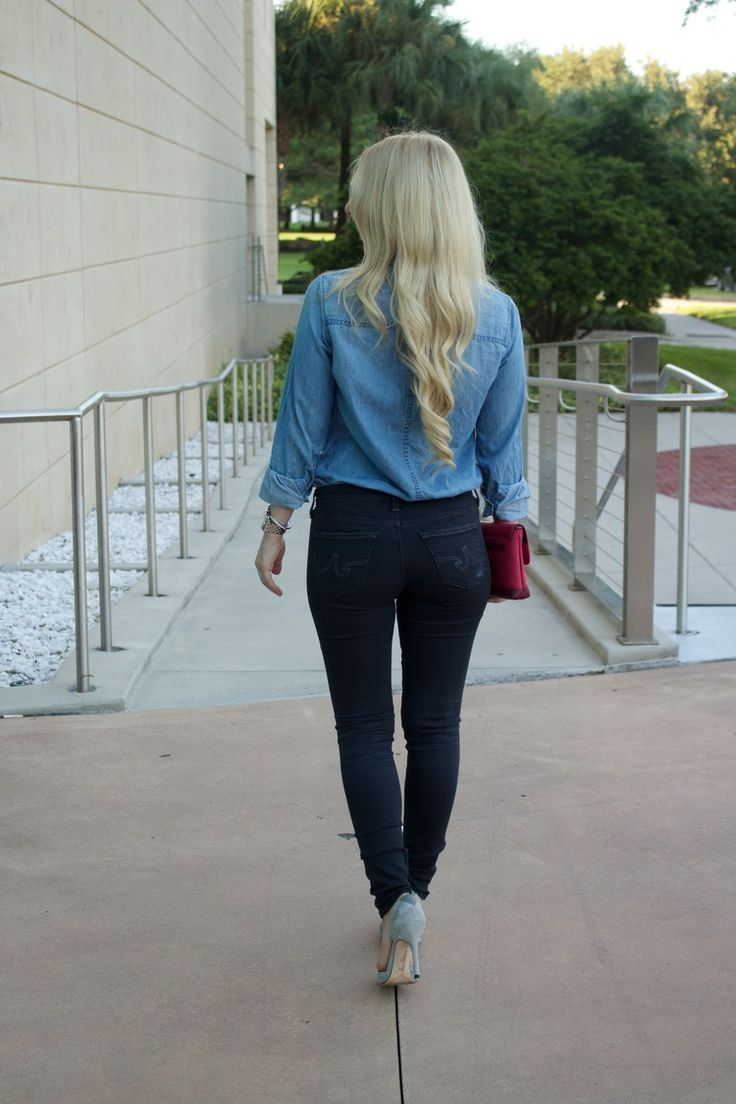 Distressed AG Jeans