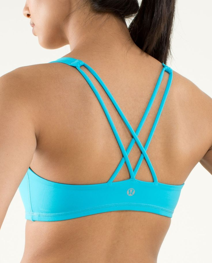 the best sports bra ever cause it doesn't hurt your neck ...