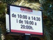 Nuevos letreros de señaletica led para el Ayuntamiento de #Alicante #smartCity #ciudadesInteligentes #panelesLed