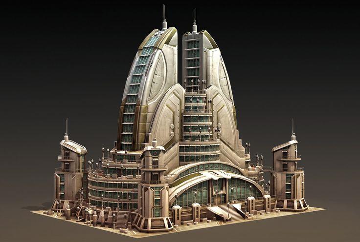 Anno 2070 realtime geb ude organic architecture for Anno 2070 find architect