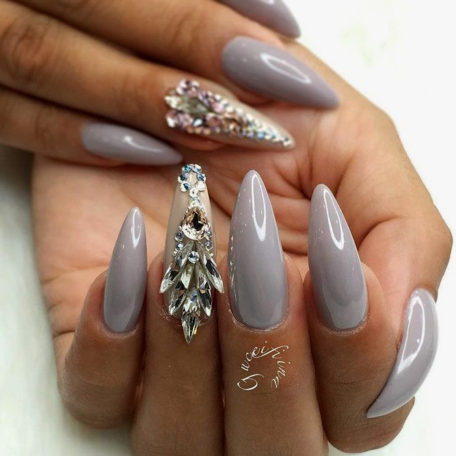 Different Types Of Nail Shapes You Can Choose From Almond Shape Nails Acrylic Nail Shapes Beautiful Nails