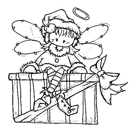 Best 25+ Christmas present coloring pages ideas on