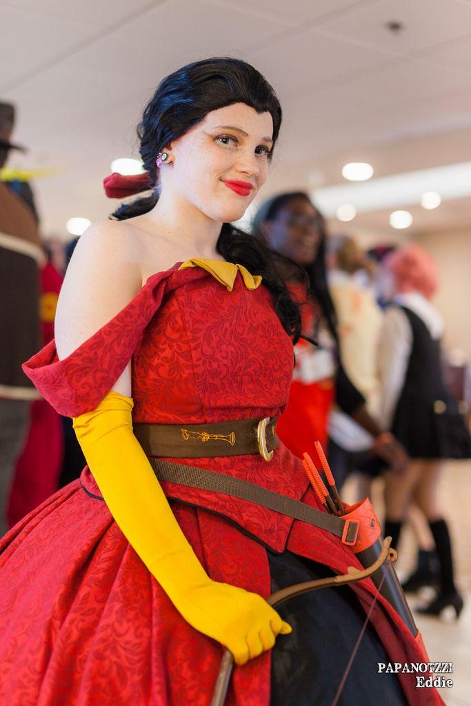 Female Gaston Costume