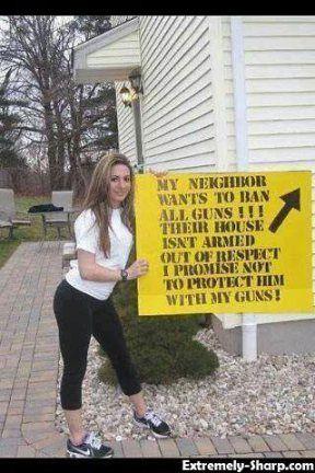 Best 25 Gun Control Humor Ideas On Pinterest Gun