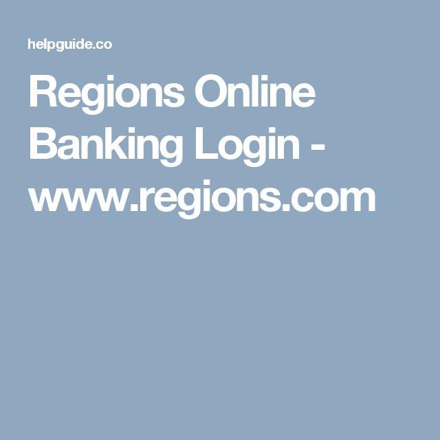 Regions Online Banking Login - www.regions.com