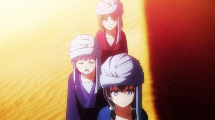 Glass No Hana To Kowasu Sekai (Garakowa) - Dual,Remo and Dorothy #Anime