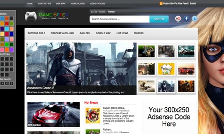 Templates for Blogspot - Blogger Templates 2012