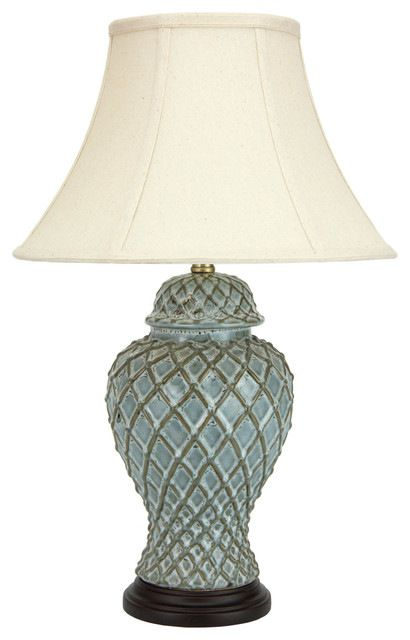 """23"""" Classic Temple Jar Lamp traditional-table-lamps"""