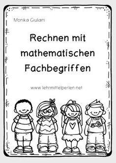 mathematische fachbegriffe rechnen mathe und schule