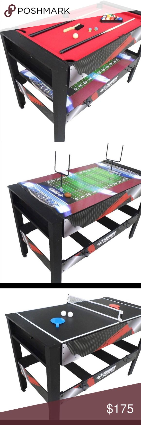 4 in 1 Triumph sports table Used but good condition Other
