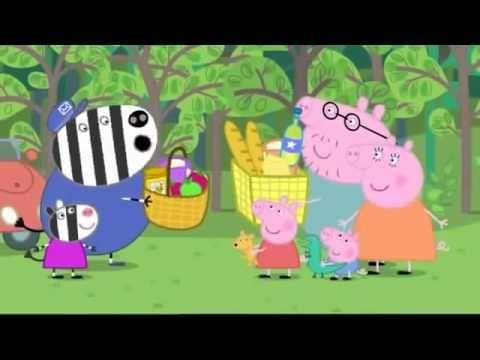 Η Πέππα το γουρουνάκι   Επεισόδιο 15 @ Το αρκουδάκι πάει εκδρομή