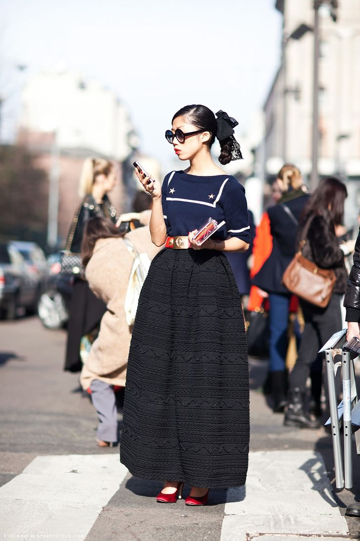 Oksana On http://carolinesmode.com/stockholmstreetstyle/art/239058/oksana_on/