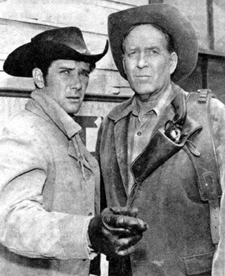 "laramie tv series episodes | ... with Robert Fuller on the ""Laramie"" episode ""Double Eagles"" in 1962"