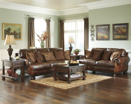 Chicago Furniture Store - Furniture-Village-Chicago - Ashley Furniture Hutcherson - Harness