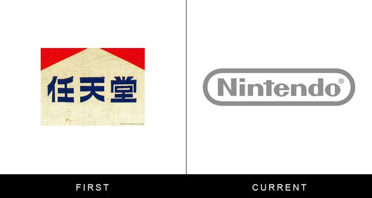 "While you're more familiar with the ""racetrack"" logo, the original version featured the company's name written in kanji."