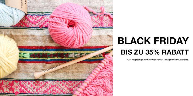 Wolle und Stricksets günstig kaufen