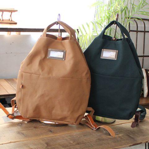 camp(倉敷帆布リュック)   帆布トートバッグ、リネンバッグ、レザーグッズ  clueto(クルート)in 神戸