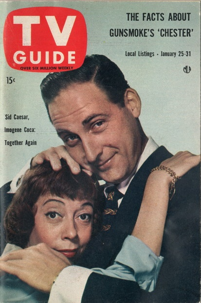 Sid Caesar and Imogene Coca  January 25-31 1958