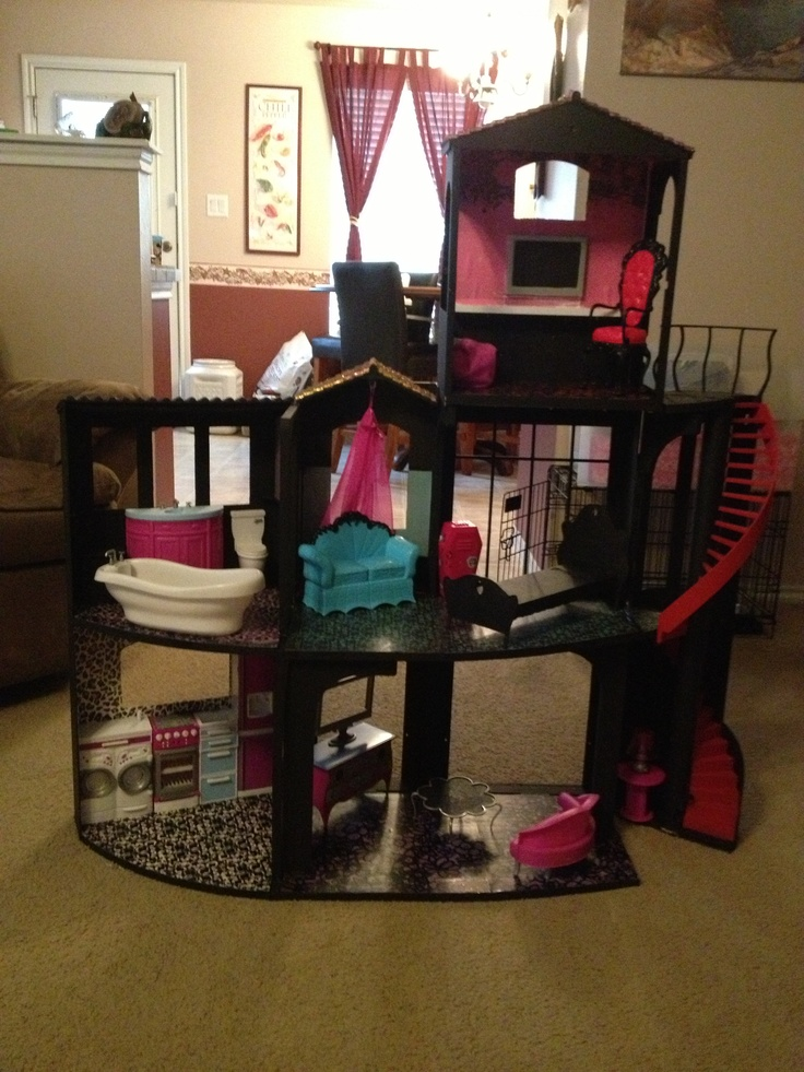 Exceptional Monster High Dollhouse