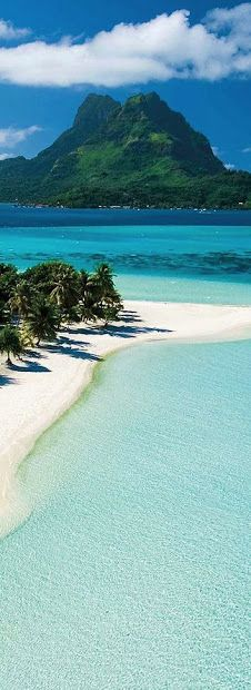 Bora Bora, French Polynesia by Dream Travel Spots .... Bora Bora is an atoll in the Society Islands, part of French Polynesia, located northwest of Tahiti, about 260 km northwest of Papeete.