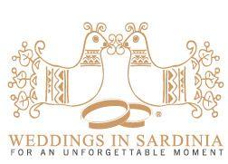 E' il logo dell'azienda Weddings in Sardinia.