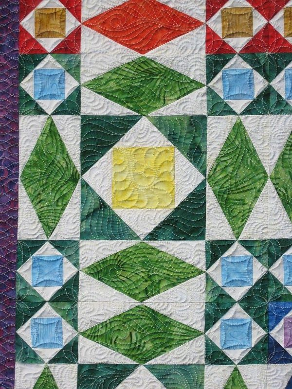 storm at sea quilt | BARBARA BIERAUGEL DESIGNS: Rainbow at Sea