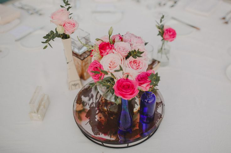 Rose, Peony, Lisianthus and Herbs