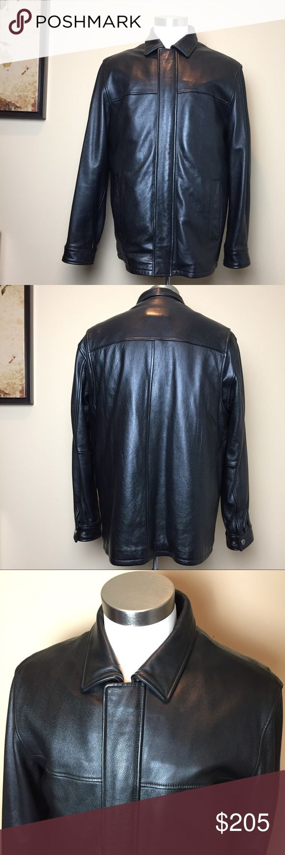 SOLD Wilson's Leather Motorcycle Jacket Thinsulate
