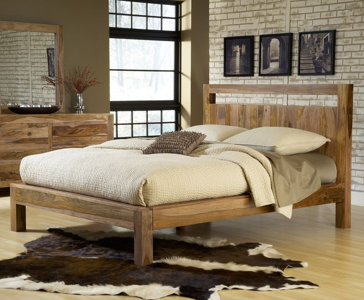 atria solid wood platform bed from nest bedding organic mattress and bedding stores